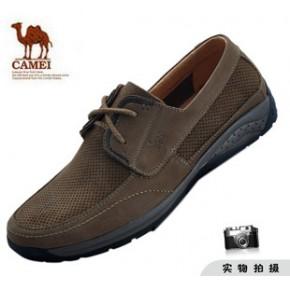 专柜 美国骆驼男鞋 2011 新款抗振透气凉鞋 户外休闲凉鞋