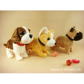毛绒智能玩具电子宠物狗酷狗带声控功能的 零零狗智能狗
