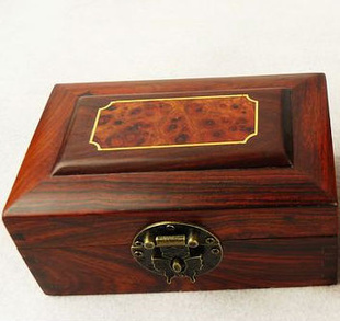 炫宇红木工艺品红木盒子*红酸枝首饰盒*嵌樱木仿古首饰盒*3件套*