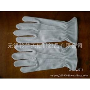 批量供应纯棉手套    铃兰