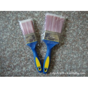 TPR双色手柄油漆刷 油漆刷