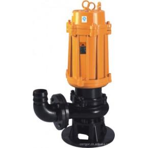 上海索斯科 WQJY 自动搅匀潜水排污泵系列规格型号及主要技术参数