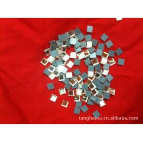 大量生产供应水晶玻璃,镜面玻璃 银镜 6*6mm 辅料用品