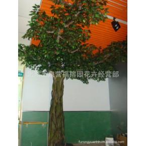 人造树,环保玻璃钢古榕树