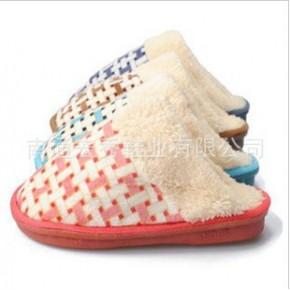 居家室内保暖棉拖 地板拖鞋冬季女款男款情侣棉拖棉鞋家居拖鞋