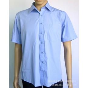 棉类混纺65%棉加柔男士商务衬衣