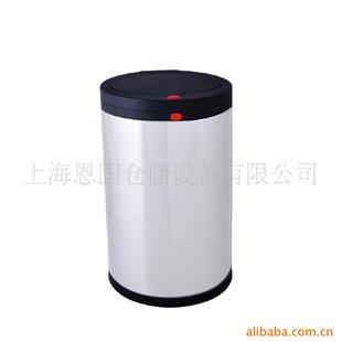 优质精品黑白色户外垃圾桶不锈钢
