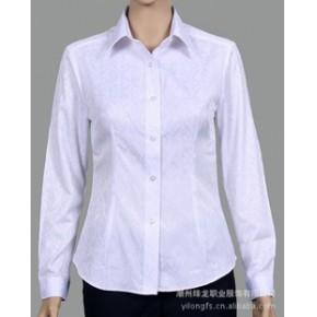 量身定做 棉类混纺65%棉 女式修身衬衣