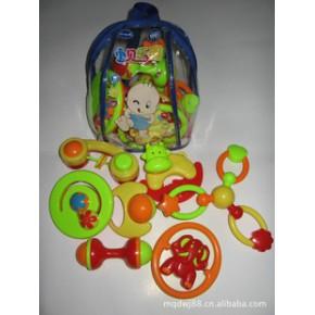 新包装-背包7件套婴儿摇铃