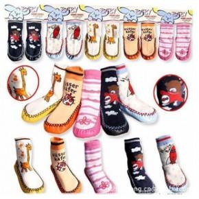 宝宝地板袜 宝宝鞋袜 皮底袜 童袜 袜套 防滑袜 经典5款
