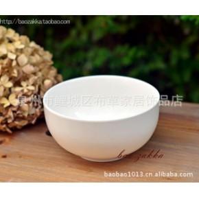 新骨瓷 纯白 弧形 碗 米饭碗