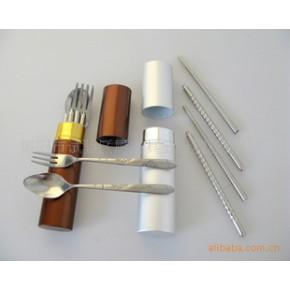 不锈钢便捷餐具三件套 厨之具