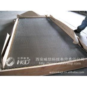 展开的铝蜂窝芯块 铝蜂窝