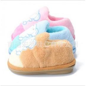 冬季保暖棉拖 儿童棉拖家居温馨 户外更轻便可爱