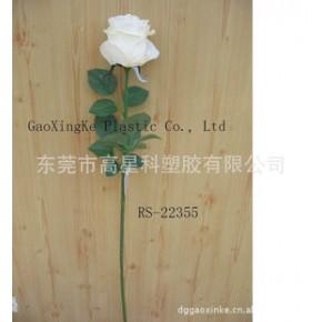仿真玫瑰花 人造花 仿真植物 装饰花 外贸产品 高质量低价格