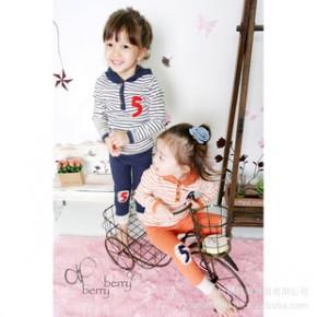童装批发 韩国进口童装 2011新款 舒适可爱