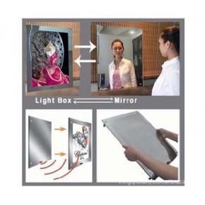 新款镜面灯箱、感应灯箱、洗手间灯箱上市--欢迎订购