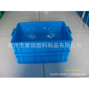加厚塑料箱,400大把手塑料箱