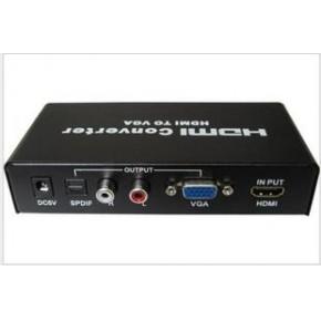 仝丽 HDMI转VGA转换器, 支持投影机,高清电视转换 效果不好包退