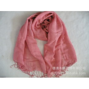 2011年德清丰锦服饰新款单色长巾 new scarf