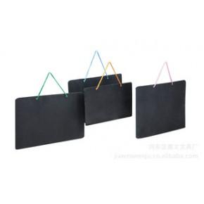 嘉文牌 简易双面小黑板(环保型、带挂绳)