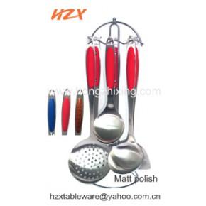 高级精美不锈钢厨具套装七件套以及西餐具刀叉匙套装供应