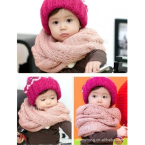 2011秋冬新款 加厚条纹围巾 宝宝围巾 儿童围巾 不含帽子哦
