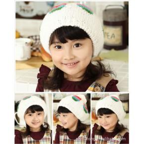 2011新款彩虹蓓蕾帽 秋冬帽 宝宝帽 冬帽