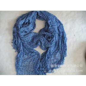 2011年德清丰锦服饰新款圆点印花长巾 new scarf