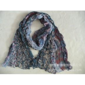 2011年德清丰锦服饰新款豹纹长巾 new scarf