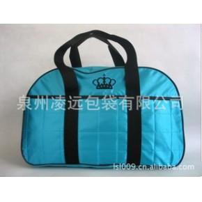 生产批发包包,新款蓝色旅行包,旅行袋,手提单肩包包