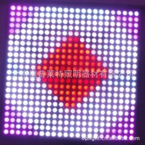 批发led全彩像素屏  全彩幕墙屏  led全彩点光源