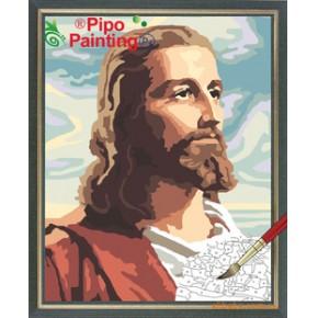 PIPO数字油画耶稣40*50