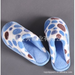 宏秀拖鞋 点点居家 保暖棉拖 冬季情侣款 棉鞋 拖鞋 W1103/W1104