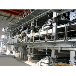 造纸机械——4000/300三叠网多缸造纸机