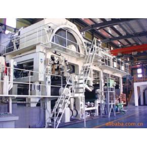 造纸机械——1900/250单网单缸薄页纸机