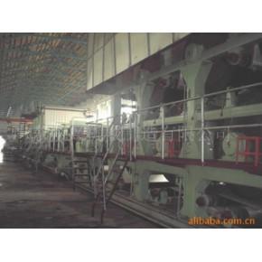 造纸机械——3400mm多园网多缸灰板纸机