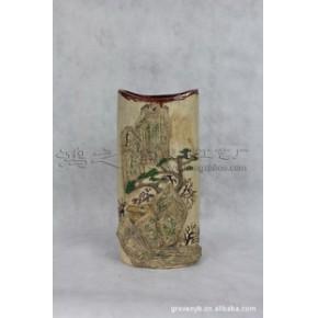 云林幽居 家居装饰摆件品  石湾手工艺 陶瓷工艺品