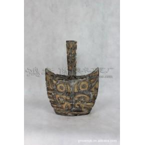 长径瓶 艺术花瓶 陶瓷工艺品 石湾手工艺 家居装饰摆件
