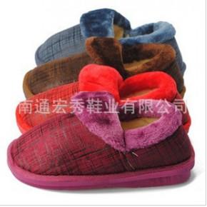11冬季主打款情侣包跟棉拖鞋 男居家棉鞋 女家居软底保暖鞋地板鞋