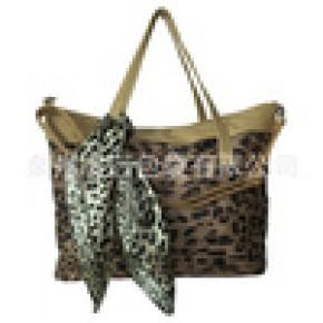 生产批发包包,时尚手提肩背斜挎豹纹女生包,包袋加工