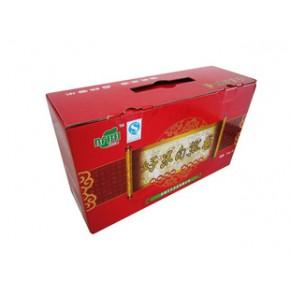 大米箱瓦楞箱彩色包装良工纸箱厂