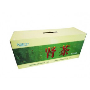肾茶彩色瓦楞纸箱包装良工纸箱厂