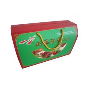 食品彩色瓦楞纸箱包装良工纸箱厂