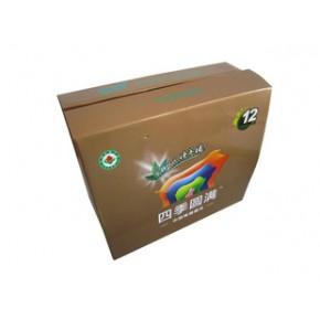 猪肉箱彩色瓦楞纸箱包装良工纸箱厂
