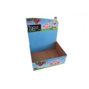 美汁源可乐展示盒彩色瓦楞箱良工纸箱厂