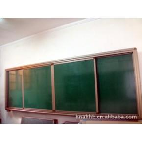 液晶电视组合式黑板(双侧推拉)