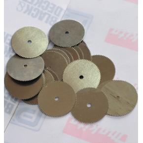 电磨用锯齿切割片 不锈钢设计 20MM直径