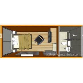 移动环保厕所 单身公寓 集装箱活动房