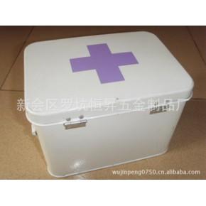 铁皮铁制喷漆药箱,铁方箱,储物箱,欢迎咨询